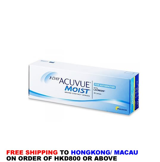1 Day Acuvue Moist for Astigmatism,1 Day Acuvue Moist,Astigmatism, Moist Astigmatism
