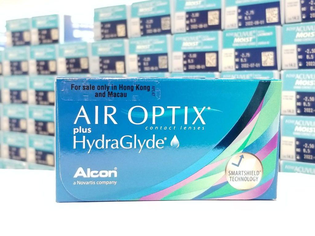 82998e954770e 4 Boxes  Air Optix plus HydraGlyde (6 lenses) – BuyLens.hk